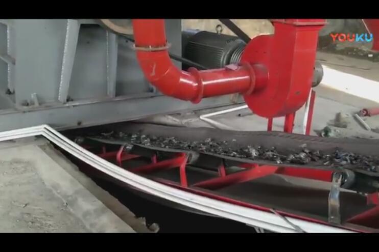 油漆桶破碎机生产视频