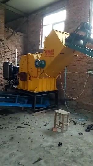 机油滤芯破碎机